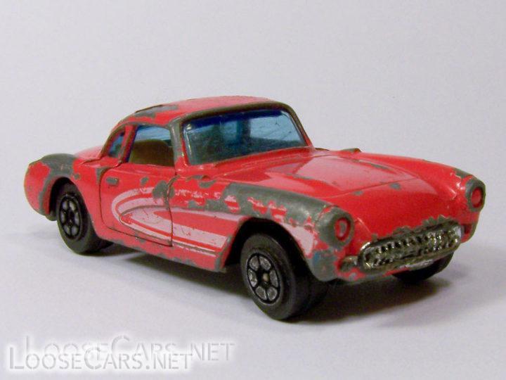 Yatming #1079 '57 Corvette: Red
