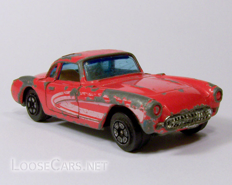 Yatming #1079 '57 Corvette Front Right