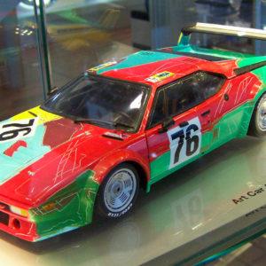 Art Car Andy Warhol BMW M1 Group 4, 1979