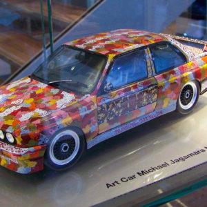 Art Car Michael Jagamara Nelson, BMW M3 Group A, 1989