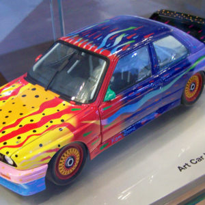 Art Car Ken Done BMW M3 Group A, 1989