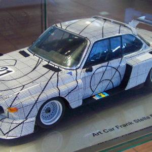 Art Car Frank Stella BMW 3.0 CSL turbo Group 5, 1976