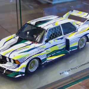 Art Car Roy Lichtenstein BMW 320i Group 5, 1977