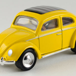 Matchbox 1962 VW Beetle: 2000 FAO Schwarz Front Left