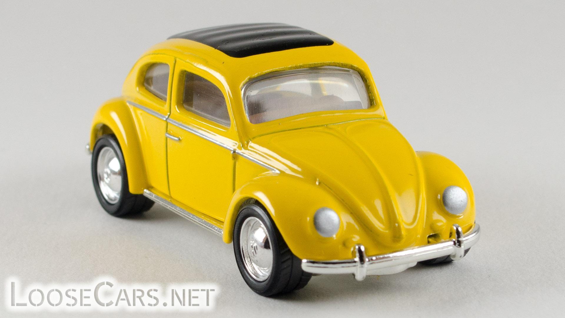 Matchbox 1962 VW Beetle: 2000 FAO Schwarz Front Right