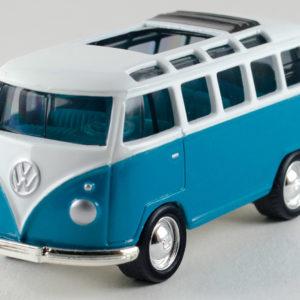 Matchbox VW Transporter: 2000 FAO Schwarz VW Collection Front Left