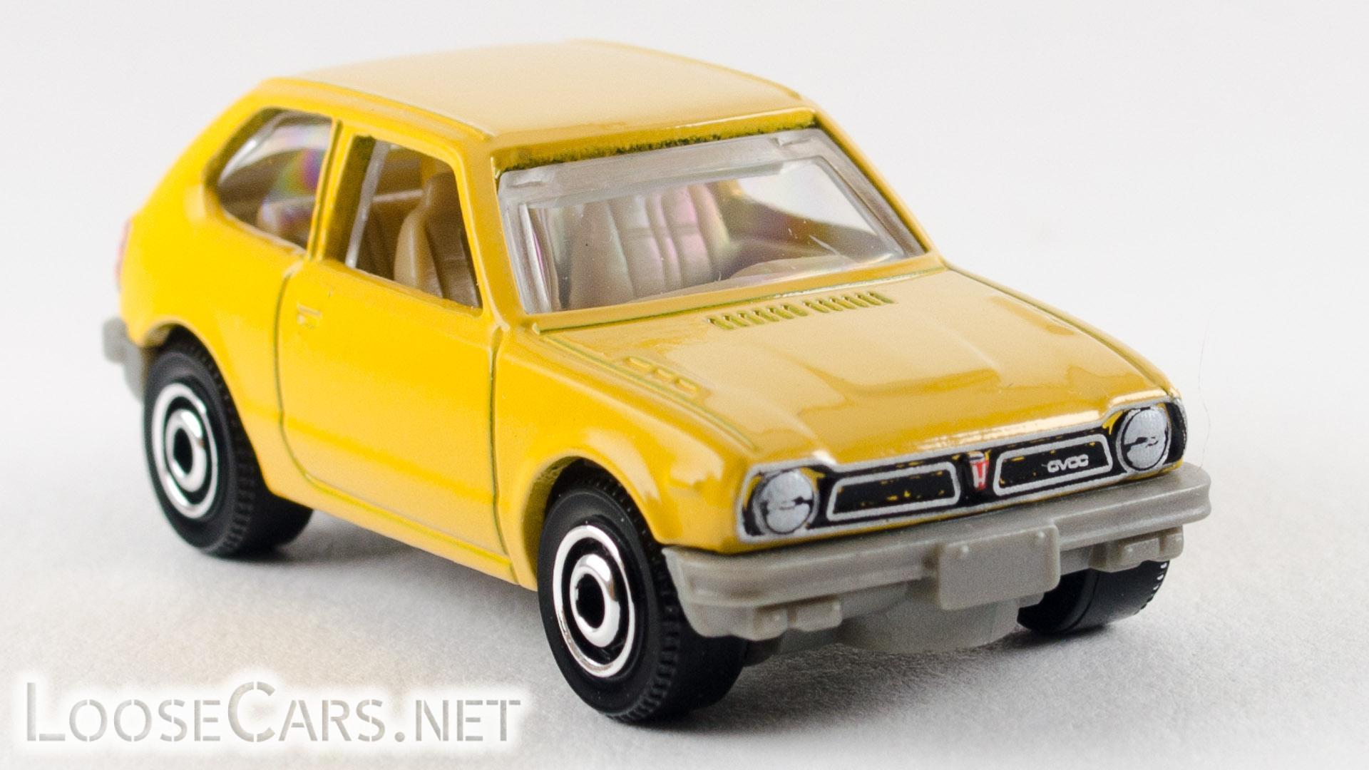 Matchbox '76 Honda CVCC: 2020 #45 MBX Highway Front Right