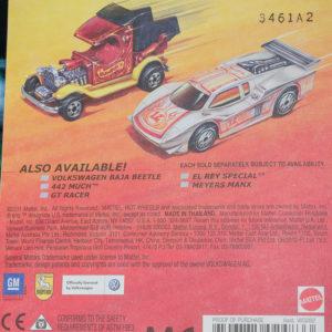 Hot Wheels Baja Bug: 2012 Hot Ones Card Rear