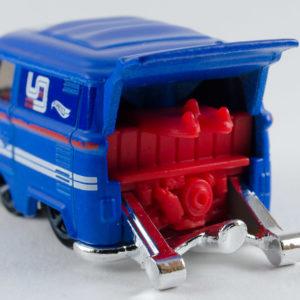Hot Wheels Kool Kombi: 2019 #136 (Blue) Rear Left