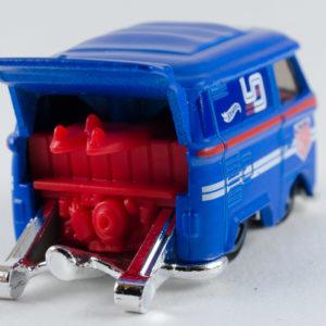 Hot Wheels Kool Kombi: 2019 #136 (Blue) Rear Right