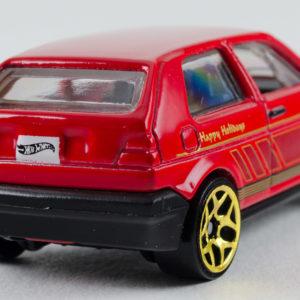 Hot Wheels VW Golf: 2015 Holiday Rear Right