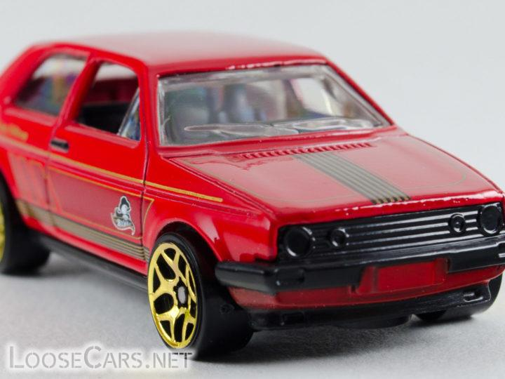 Hot Wheels VW Golf: 2015 Holiday Hot Rods