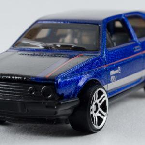Hot Wheels VW Golf: 2018 #68 (Blue) Front Left