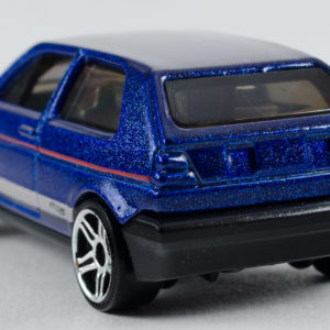 Hot Wheels VW Golf: 2018 #68 (Blue) Rear Left