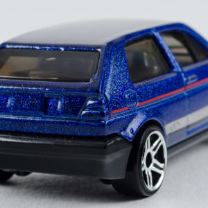 Hot Wheels VW Golf: 2018 #68 (Blue) Rear Right