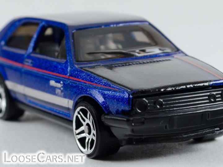 Hot Wheels VW Golf: 2018 #68 Volkswagen Series (Blue)