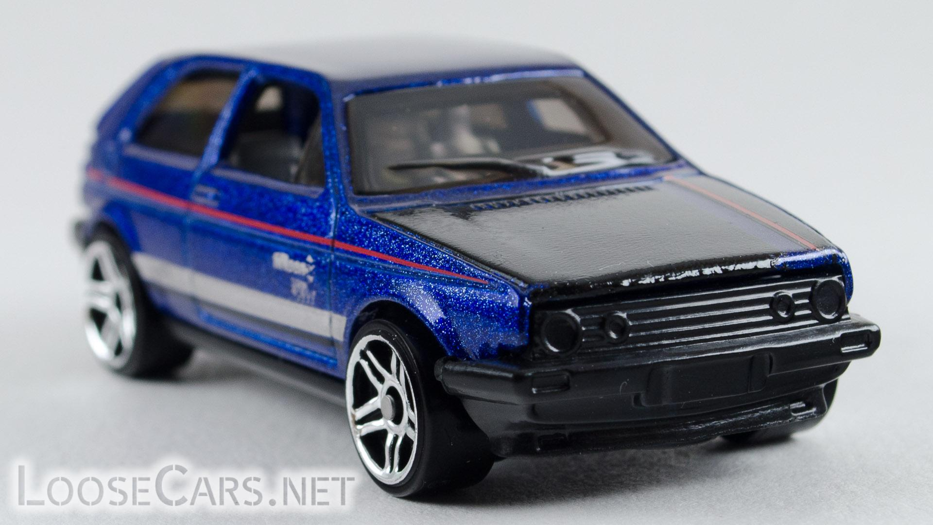 Hot Wheels VW Golf: 2018 #68 (Blue) Front Right