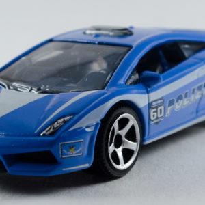 Matchbox Lamborghini Gallardo LP560-4 Polizia: 2013 60th Front Left