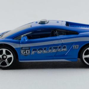 Matchbox Lamborghini Gallardo LP560-4 Polizia: 2013 60th Left