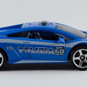 Matchbox Lamborghini Gallardo LP560-4 Polizia: 2013 60th Right