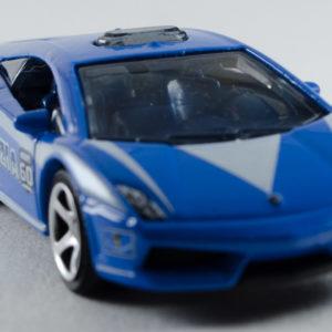 Matchbox Lamborghini Gallardo LP560-4 Polizia: 2013 60th Front Right