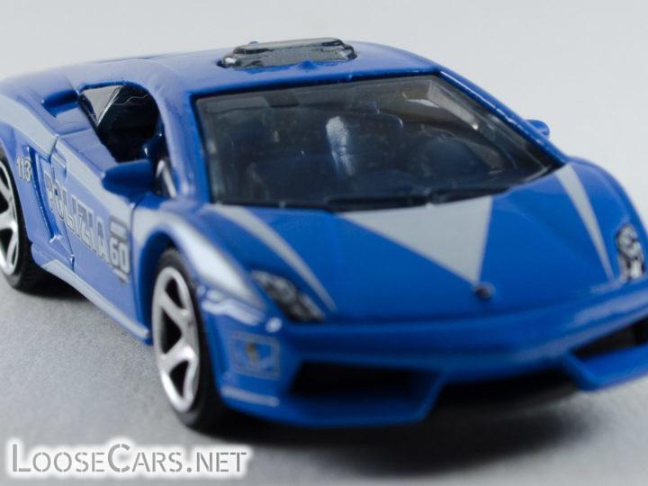 Matchbox Lamborghini Gallardo LP560-4 Polizia: 2013 60th Anniversary