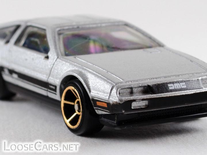 Hot Wheels '81 DeLorean DMC-12: 2011 #141 Faster Than Ever