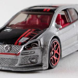 Hot Wheels Volkswagen Golf GTI: 2013 #177 Grey Front Left