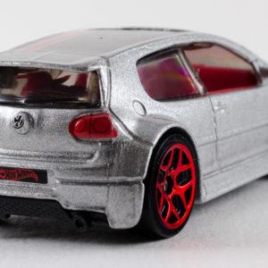 Hot Wheels Volkswagen Golf GTI: 2013 #177 Grey Rear Right