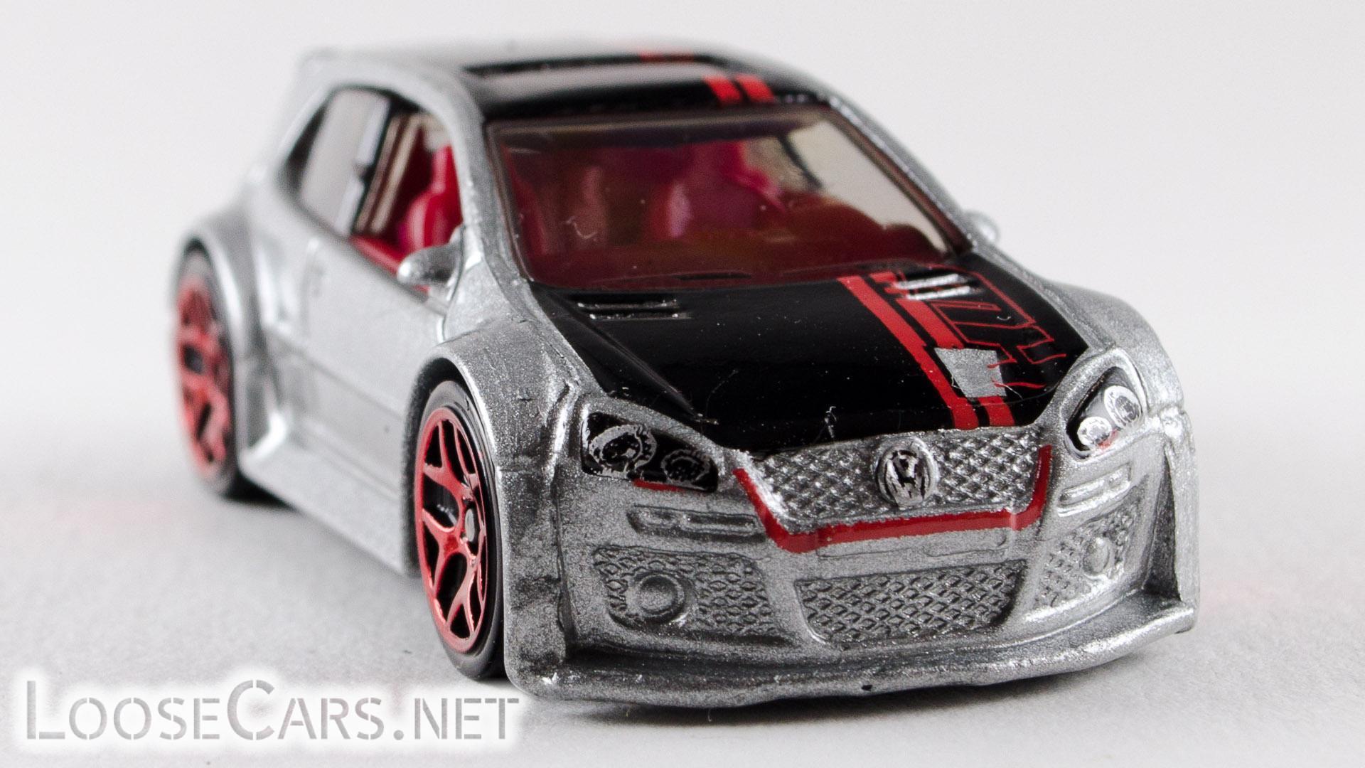 Hot Wheels Volkswagen Golf GTI: 2013 #177 Grey Front Right