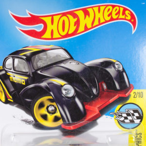 Hot Wheels Volkswagen Käfer Racer: 2017 #56 Black Card