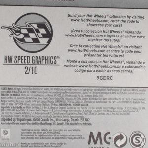 Hot Wheels Volkswagen Käfer Racer: 2017 #56 Black Card Rear