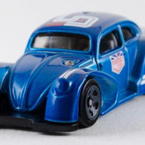 Hot Wheels Volkswagen Käfer Racer: 2018 #2 Blue Front Left