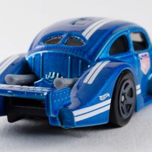 Hot Wheels Volkswagen Käfer Racer: 2018 #2 Blue Rear Right