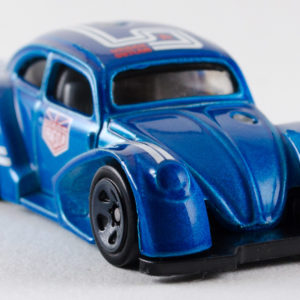 Hot Wheels Volkswagen Käfer Racer: 2018 #2 Blue Front Right