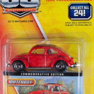 Matchbox 1962 Volkswagen Beetle: 2013 60th Card