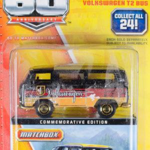 Matchbox Volkswagen T2 Bus: 2013 Matchbox 60th Anniversary Card