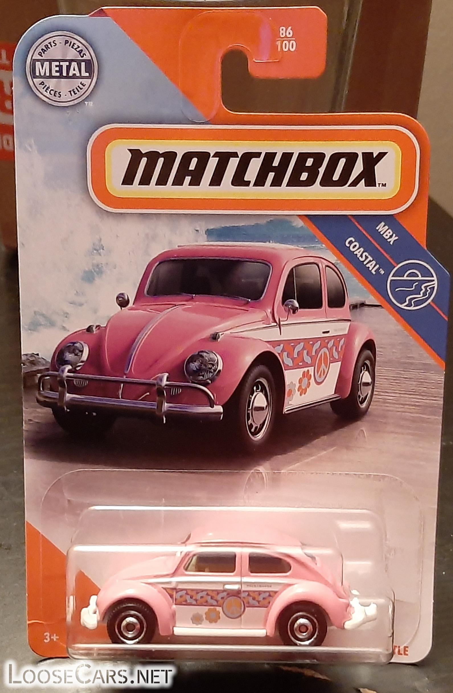 Matchbox 1967 Volkswagen Beetle: 2002 #86 Carded