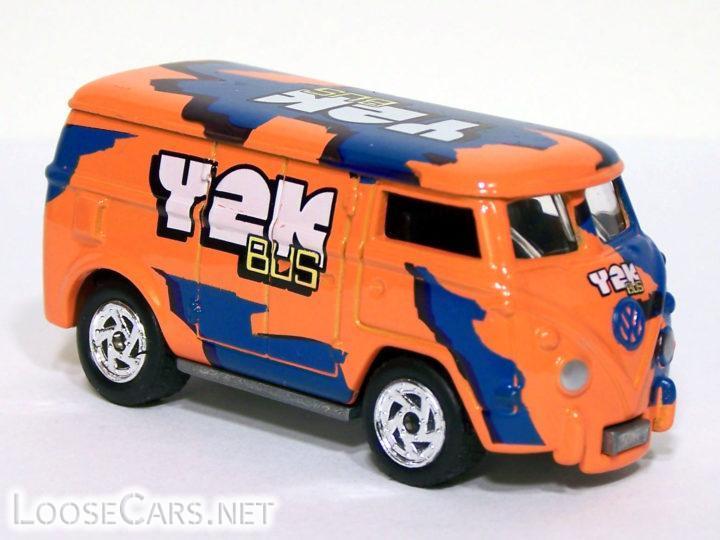 Johnny Lightning Volkswagen Bus: 1999 .COM Series (Orange 5BL)
