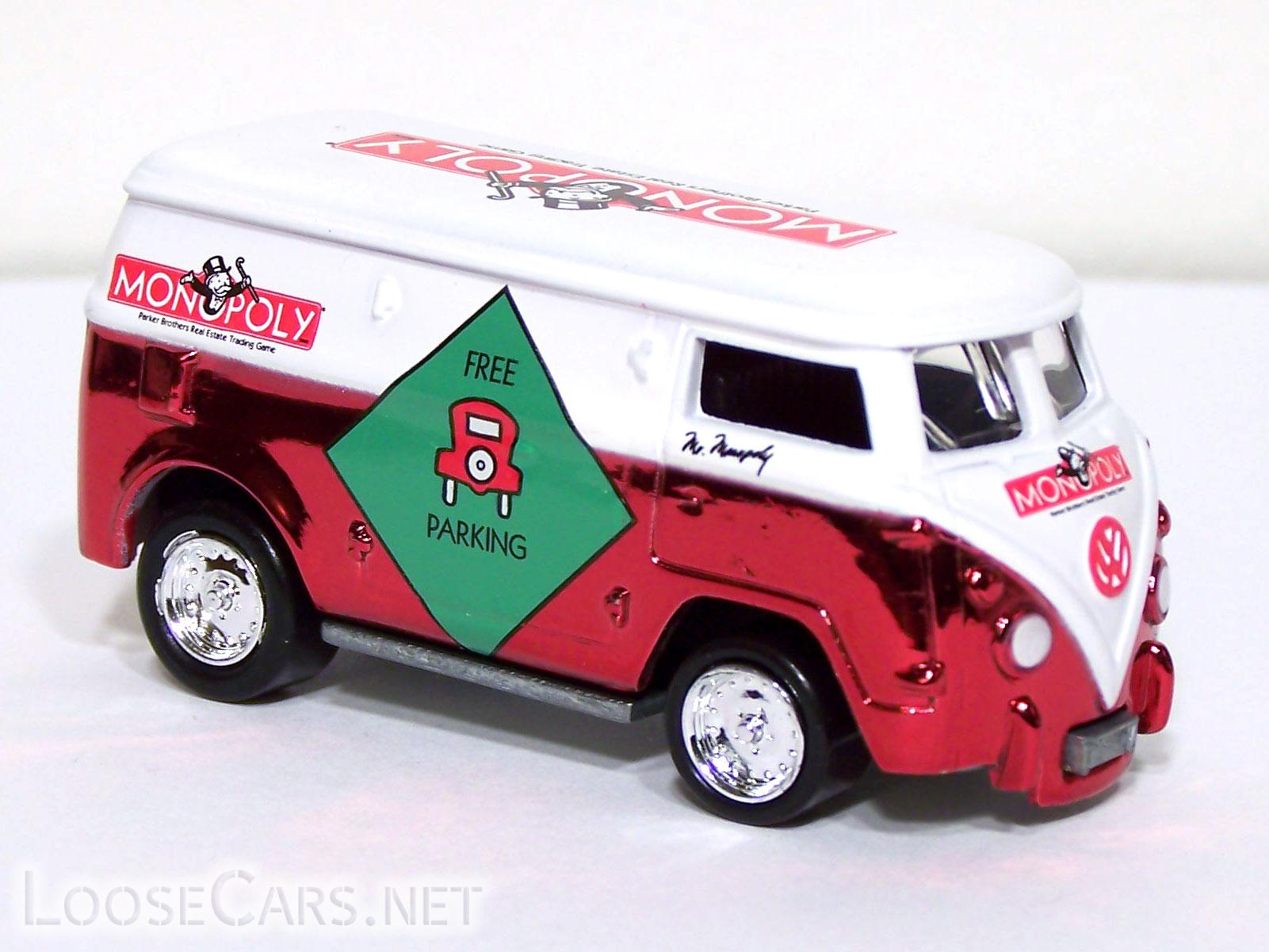 Johnny Lightning Volkswagen Bus: 2001 Monopoly KB Front Right