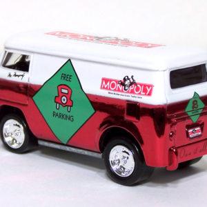Johnny Lightning Volkswagen Bus: 2001 Monopoly KB Rear Left