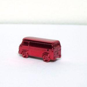 Johnny Lightning Volkswagen Bus: 2001 Monopoly KB Token Rear Left