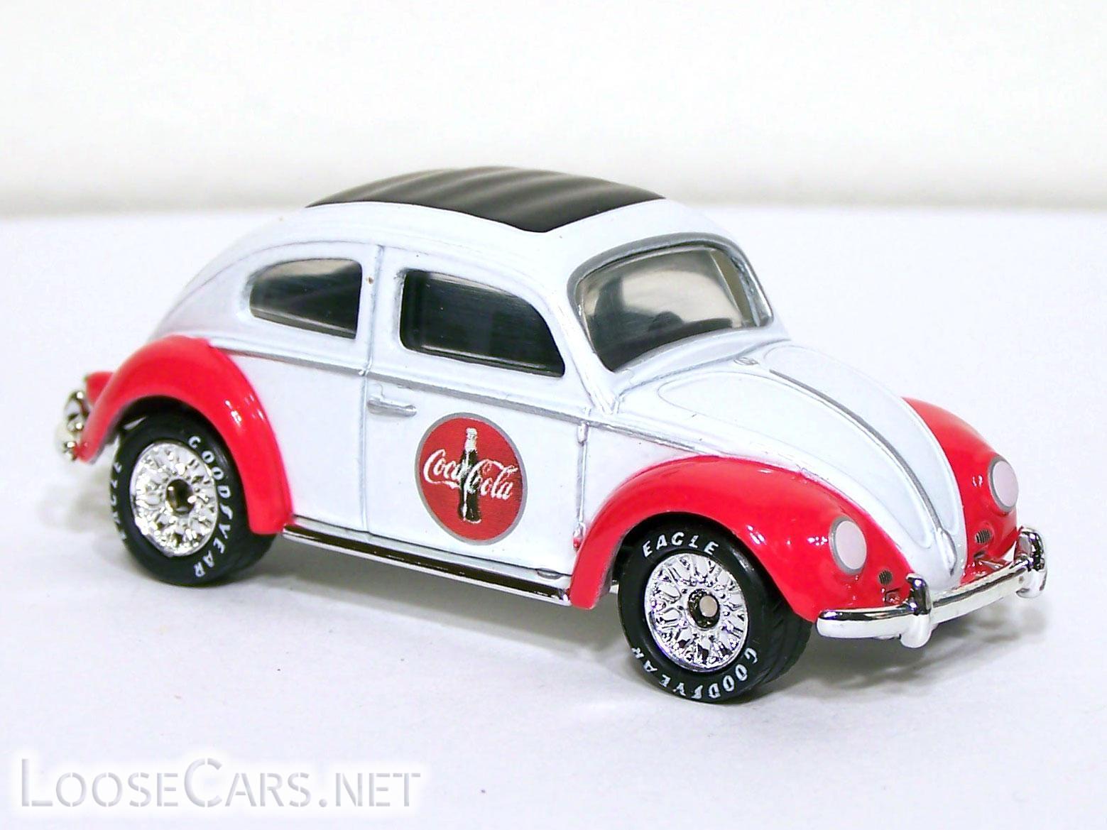 Matchbox 1962 Volkswagen Beetle: 2000 Collectibles: Coca Cola Front Right
