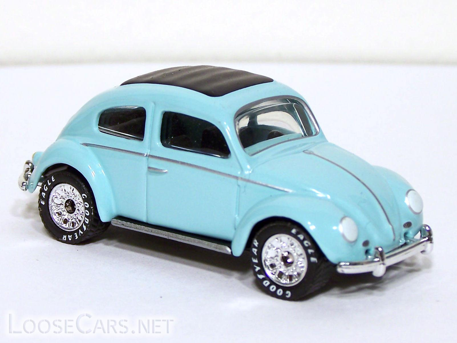 Matchbox 1962 Volkswagen Beetle: 2001 Then and Now Front Right