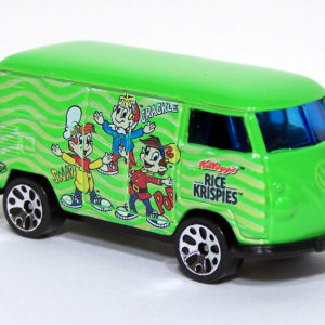 Matchbox VW Delivery Van: 2002 Kellogg's Front Right