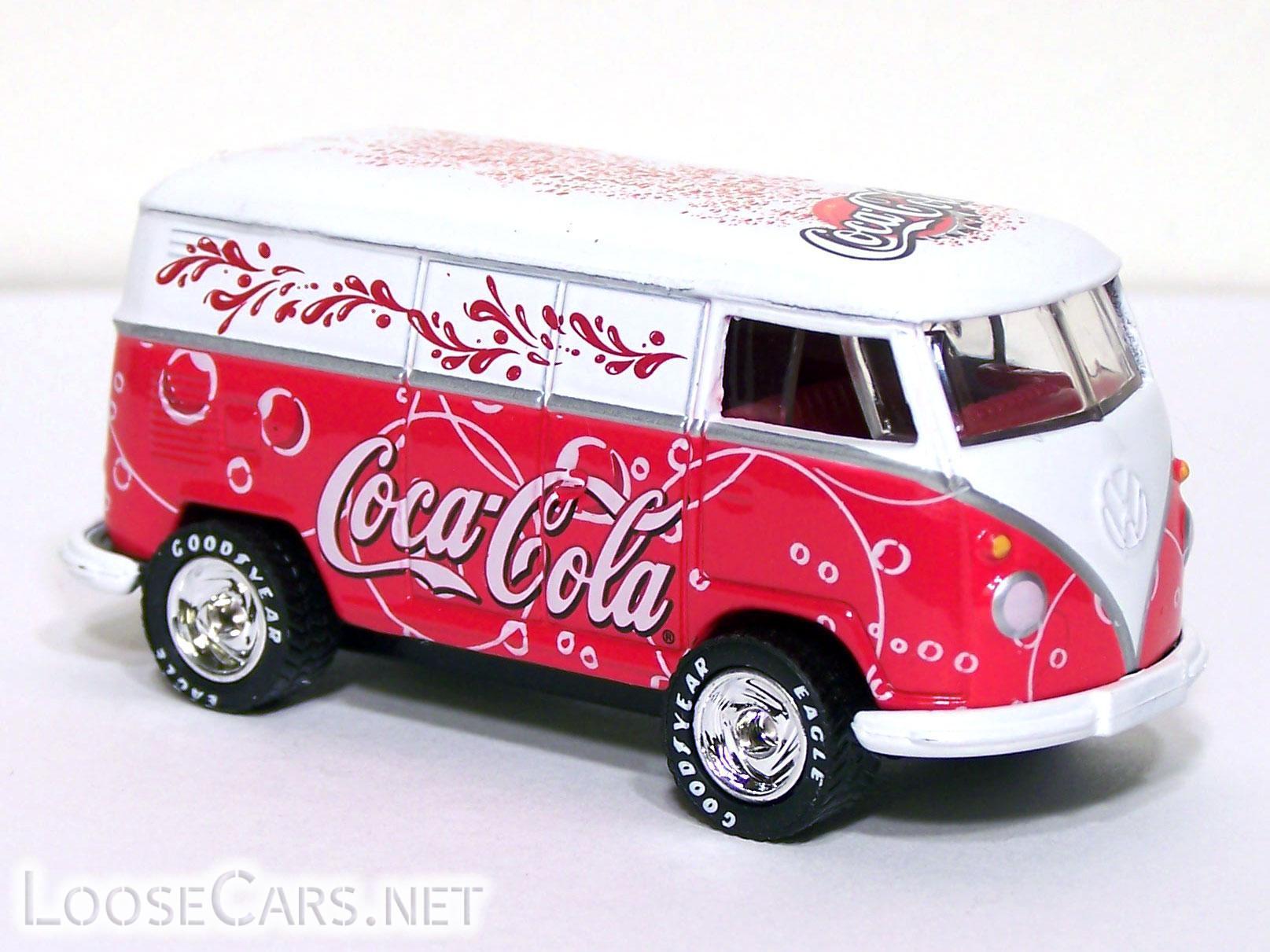 Matchbox VW Delivery Van: 2002 Coca Cola Front Right
