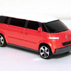 Matchbox Volkswagen Microbus: 2005 Superfast #31 Orange Front Right