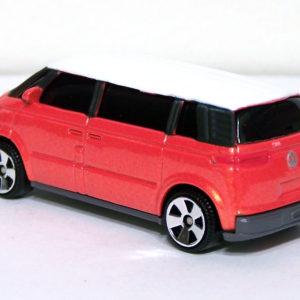 Matchbox Volkswagen Microbus: 2005 Superfast #31 Orange Rear Left