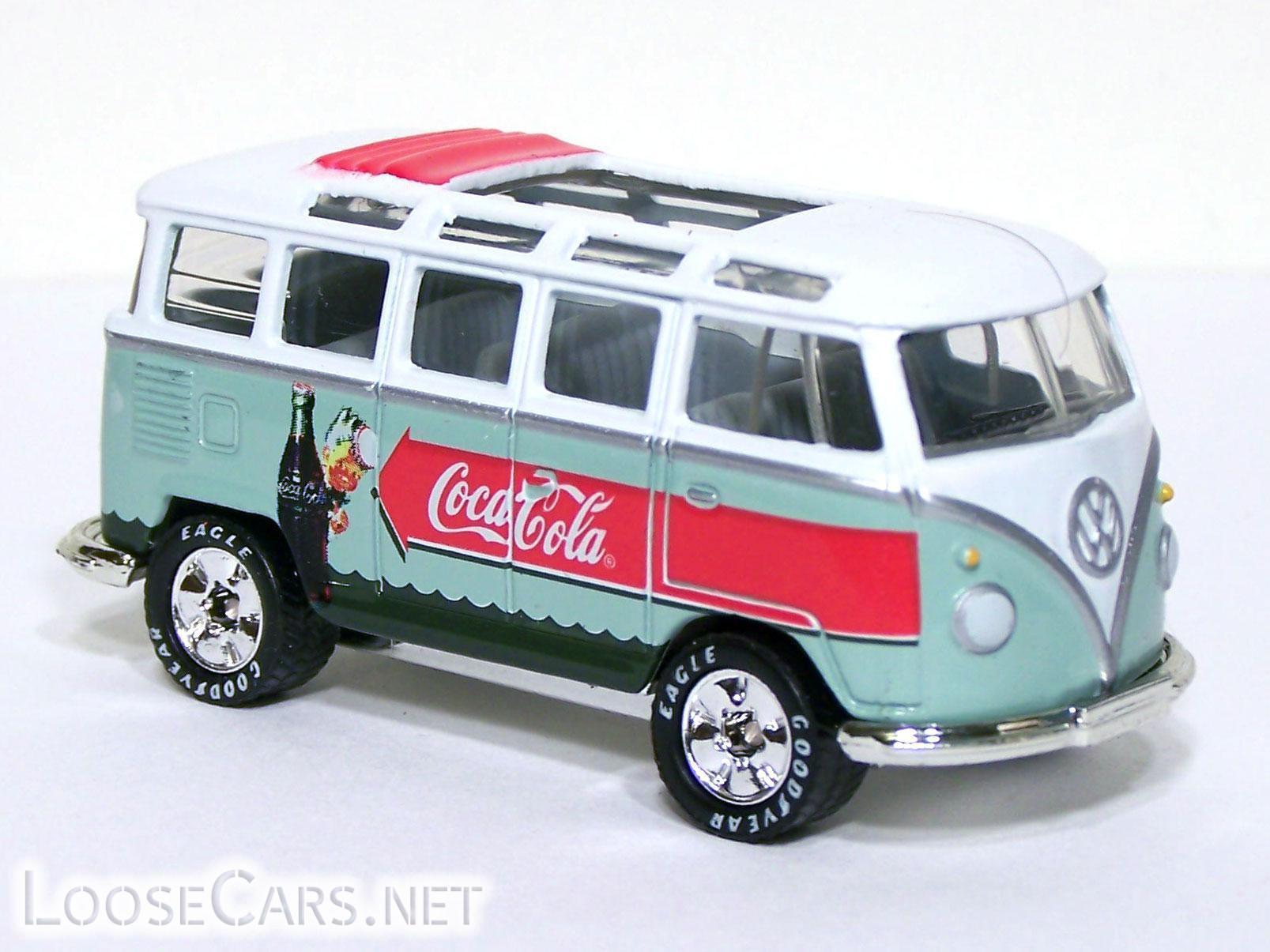 Matchbox VW Transporter: 2000 Coca Cola Front Right