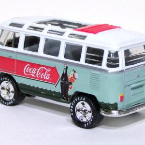 Matchbox VW Transporter: 2000 Coca Cola Rear Left